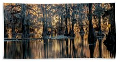 Caddo Lake Sunrise Beach Sheet