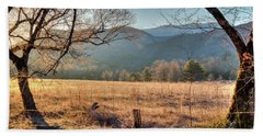 Beach Towel featuring the photograph Cades Cove, Spring 2017 by Douglas Stucky