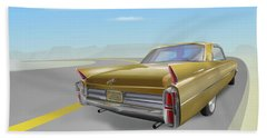 Cadillac De Ville Beach Towel