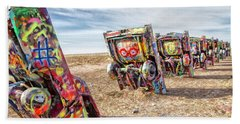 Cadillac Ranch 1 Beach Towel