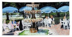 Cafe Gallery Beach Sheet