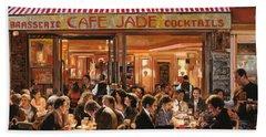 Cafe Jade Beach Towel