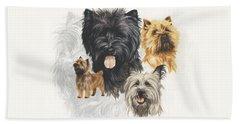 Cairn Terrier Revamp Beach Sheet