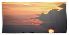 Beach Sheet featuring the photograph Cajun Summer Sunset by John Glass
