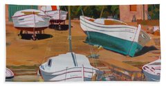 Cala Figuera Boatyard - II Beach Towel