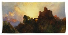 Caledonia Beach Towel by Thomas Moran