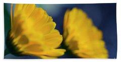Beach Sheet featuring the photograph Calendula Flowers by Sharon Mau