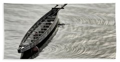Beach Towel featuring the photograph Calgary Dragon Boat by Brad Allen Fine Art