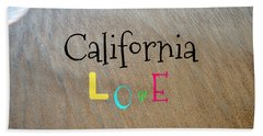Cali Love Beach Towel