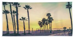 Cali Sunset Beach Towel