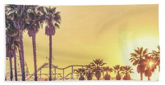 Cali Vibes Beach Towel