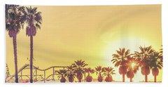 Cali Vibes Beach Towel