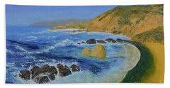 Calif. Coast Beach Towel