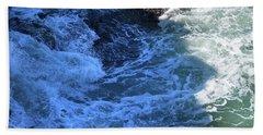 Beach Sheet featuring the photograph California Blue by Michael Rock