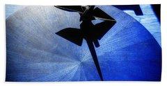 Beach Towel featuring the photograph California Blue by Wayne Sherriff