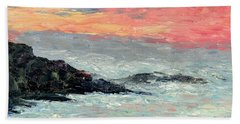 California Coast Beach Towel by Gail Kirtz