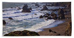 California Coast Sonoma Beach Towel by Garry Gay