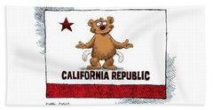 California Empty Pockets Beach Sheet