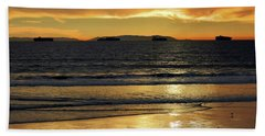 Beach Towel featuring the photograph California Gold by Everette McMahan jr