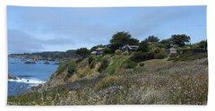California Headlands Beach Towel