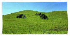 California Hills Beach Towel