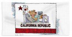 California Is Sick Beach Sheet
