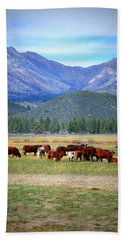 Beach Towel featuring the photograph California Pastures by Glenn McCarthy Art and Photography