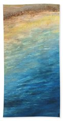 Beach Towel featuring the painting Calipso by Norma Duch