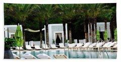 Caliza Pool In Alys Beach Beach Towel