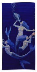 Call Of The Mermaids Beach Towel