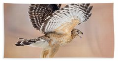 Beach Towel featuring the photograph Call Of The Wild Square by Bill Wakeley