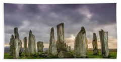 Callanish Stone Circle, Scotland Beach Towel
