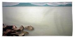 Calm At The Lake Beach Towel