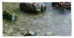 Calm Lake Beach Towel