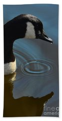 Calm Reflection Beach Towel