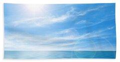 Calm Seascape Beach Sheet