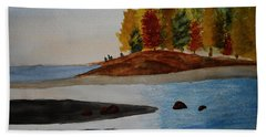 Calm Tide Beach Towel