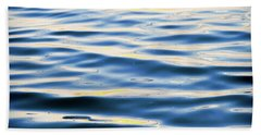 Beach Towel featuring the photograph Calm Water by Linda Olsen
