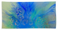 Calm Waters Abstract Beach Sheet
