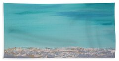 Calm Waves 2 Beach Towel