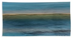 Calming Blue Beach Towel