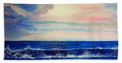 Calming Wave Beach Towel