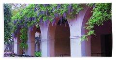 Caltech Wisteria Beach Sheet by Ram Vasudev
