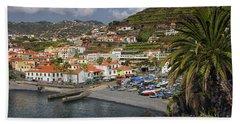 Camara De Lobos Madeira Beach Towel