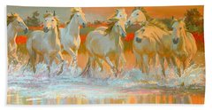 Camargue  Beach Towel