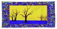 Camel Thorn Trees  Beach Towel