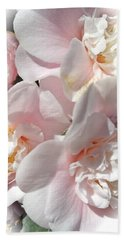 Camellias Softly Beach Towel