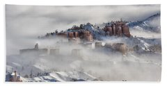 Beach Towel featuring the photograph Camouflage - Bryce Canyon, Utah by Sandra Bronstein