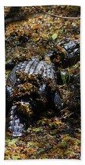 Camouflage Beach Towel by Carol Groenen