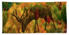 Camouflage Deer Beach Towel